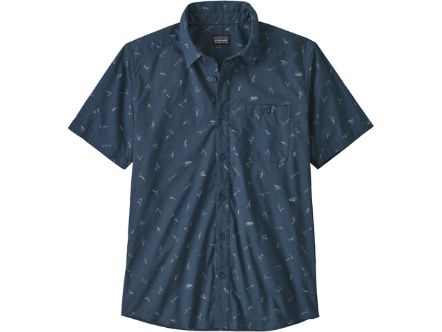 Patagonia Go To Shirt Heren, surfers/stone blue